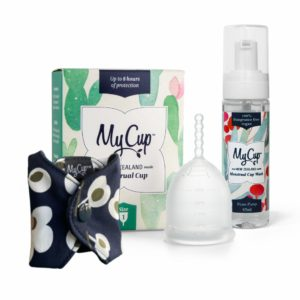 MyCup™ Menstrual Cup, Liner + Wash Pack